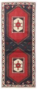 Kelardaszt Dywan 75X190 Orientalny Tkany Ręcznie Chodnik Ciemnoszary/Ciemnoczerwony (Wełna, Persja/Iran)