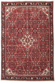 Hamadan Patina Dywan 135X202 Orientalny Tkany Ręcznie Ciemnobrązowy/Czerwony (Wełna, Persja/Iran)