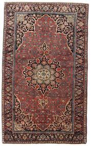 Bidżar Dywan 129X212 Orientalny Tkany Ręcznie Ciemnoczerwony/Ciemnobrązowy (Wełna, Persja/Iran)
