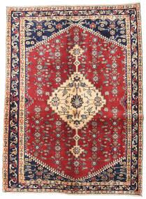 Hamadan Patina Dywan 128X170 Orientalny Tkany Ręcznie Beżowy/Ciemnoszary (Wełna, Persja/Iran)