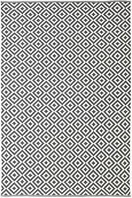 Torun - Czarny/Neutral Dywan 200X300 Nowoczesny Tkany Ręcznie Ciemnoszary/Beżowy (Bawełna, Indie)