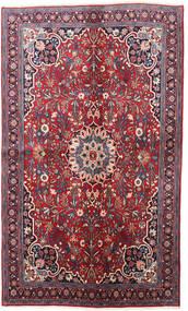 Bidżar Dywan 130X220 Orientalny Tkany Ręcznie Ciemnofioletowy/Czerwony (Wełna, Persja/Iran)