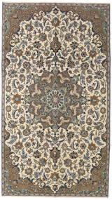 Nadżafabad Patina Dywan 155X270 Orientalny Tkany Ręcznie Beżowy/Ciemnoszary (Wełna, Persja/Iran)