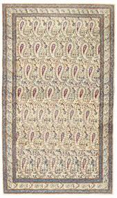 Kerman Patina Dywan 85X147 Orientalny Tkany Ręcznie Beżowy/Jasnoszary (Wełna, Persja/Iran)