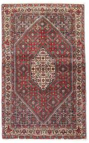Bidżar Dywan 90X143 Orientalny Tkany Ręcznie Ciemnoczerwony/Ciemnobrązowy (Wełna, Persja/Iran)