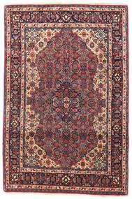 Bidżar Dywan 105X155 Orientalny Tkany Ręcznie Ciemnofioletowy/Ciemnoczerwony (Wełna, Persja/Iran)