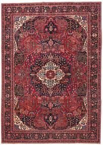 Meszhed Patina Dywan 257X362 Orientalny Tkany Ręcznie Ciemnoczerwony/Czerwony Duży (Wełna, Persja/Iran)