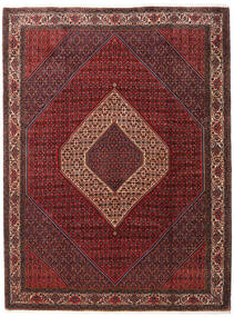 Bidżar Takab/Bukan Dywan 260X345 Orientalny Tkany Ręcznie Ciemnoczerwony/Ciemnobrązowy Duży (Wełna, Persja/Iran)
