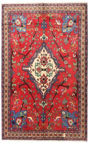 Nahawand Dywan 160X253 Orientalny Tkany Ręcznie Czerwony/Ciemnoczerwony (Wełna, Persja/Iran)
