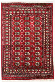 Pakistański Bucharski 2Ply Dywan 125X185 Orientalny Tkany Ręcznie Ciemnoczerwony (Wełna, Pakistan)