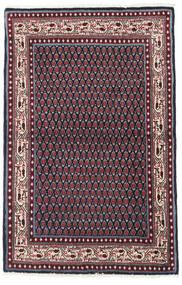 Saruk Mir Dywan 97X151 Orientalny Tkany Ręcznie Czarny/Ciemnoczerwony (Wełna, Persja/Iran)