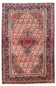 Saruk Dywan 111X165 Orientalny Tkany Ręcznie Ciemnoczerwony/Rdzawy/Czerwony (Wełna, Persja/Iran)