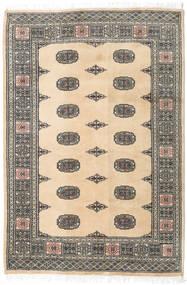 Pakistański Bucharski 2Ply Dywan 125X185 Orientalny Tkany Ręcznie Ciemnoszary/Beżowy/Jasnoszary (Wełna, Pakistan)