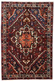 Baktjar Dywan 140X210 Orientalny Tkany Ręcznie Czarny/Ciemnoczerwony (Wełna, Persja/Iran)