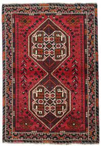 Sziraz Dywan 107X155 Orientalny Tkany Ręcznie Czarny/Ciemnoczerwony (Wełna, Persja/Iran)