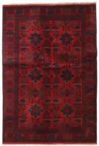 Afgan Khal Mohammadi Dywan 132X189 Orientalny Tkany Ręcznie Ciemnoczerwony/Ciemnobrązowy (Wełna, Afganistan)
