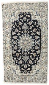 Nain Dywan 118X210 Orientalny Tkany Ręcznie Jasnoszary/Ciemnoszary (Wełna, Persja/Iran)