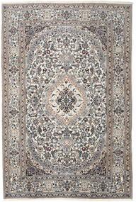 Nain Dywan 200X300 Orientalny Tkany Ręcznie Jasnoszary/Beżowy (Wełna, Persja/Iran)