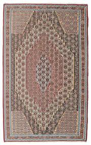 Kilim Senneh Dywan 148X237 Orientalny Tkany Ręcznie Jasnoszary/Jasnobrązowy (Wełna, Persja/Iran)