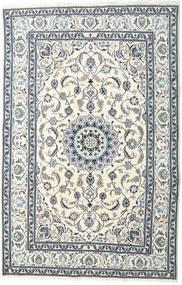 Nain Dywan 195X299 Orientalny Tkany Ręcznie Beżowy/Jasnoszary (Wełna, Persja/Iran)