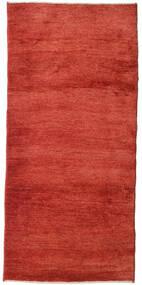 Gabbeh (Persja) Dywan 95X205 Nowoczesny Tkany Ręcznie Rdzawy/Czerwony (Wełna, Persja/Iran)