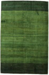 Gabbeh (Persja) Dywan 198X307 Nowoczesny Tkany Ręcznie Ciemnozielony/Zielony (Wełna, Persja/Iran)