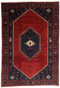 Kelardaszt Dywan 203X300 Orientalny Tkany Ręcznie Ciemnoczerwony/Czarny (Wełna, Persja/Iran)