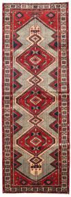 Ardabil Dywan 100X283 Orientalny Tkany Ręcznie Chodnik Ciemnobrązowy/Ciemnoczerwony (Wełna, Persja/Iran)