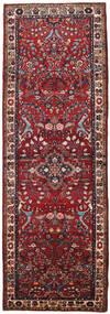 Mehraban Dywan 108X316 Orientalny Tkany Ręcznie Chodnik Ciemnoczerwony/Brązowy (Wełna, Persja/Iran)