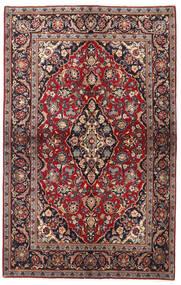 Keszan Dywan 137X218 Orientalny Tkany Ręcznie Ciemnoczerwony/Czarny (Wełna, Persja/Iran)