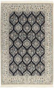 Nain 6La Dywan 146X233 Orientalny Tkany Ręcznie Jasnoszary/Beżowy (Wełna/Jedwab, Persja/Iran)
