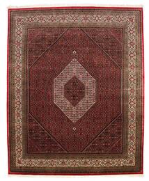 Bidżar Indie Dywan 247X301 Orientalny Tkany Ręcznie Ciemnoczerwony/Ciemnobrązowy (Wełna, Indie)