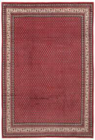 Saruk Mir Dywan 212X310 Orientalny Tkany Ręcznie Czerwony/Ciemnoczerwony (Wełna, Persja/Iran)