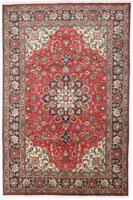 Tebriz Dywan 200X303 Orientalny Tkany Ręcznie Ciemnobrązowy/Brązowy (Wełna, Persja/Iran)