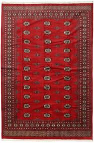 Pakistański Bucharski 2Ply Dywan 201X294 Orientalny Tkany Ręcznie Ciemnoczerwony/Czerwony (Wełna, Pakistan)