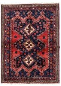 Afszar Dywan 149X201 Orientalny Tkany Ręcznie Czarny/Ciemnoczerwony (Wełna, Persja/Iran)