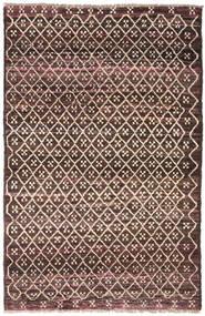 Moroccan Berber - Afghanistan Dywan 115X175 Nowoczesny Tkany Ręcznie Ciemnobrązowy/Ciemnoczerwony (Wełna, Afganistan)