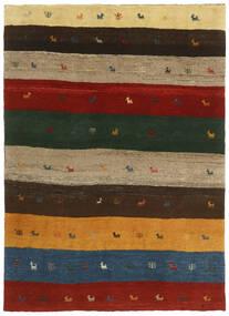 Gabbeh (Persja) Dywan 123X176 Nowoczesny Tkany Ręcznie Ciemnozielony/Czerwony (Wełna, Persja/Iran)