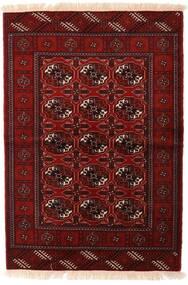 Turkmeński Dywan 110X160 Orientalny Tkany Ręcznie Ciemnoczerwony/Ciemnobrązowy (Wełna, Persja/Iran)