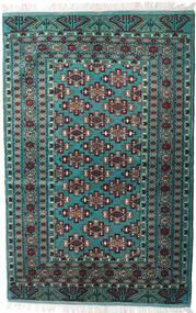 Turkmeński Dywan 135X203 Orientalny Tkany Ręcznie Czarny/Ciemnoszary (Wełna, Persja/Iran)