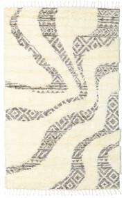 Barchi/Moroccan Berber - Indie Dywan 160X230 Nowoczesny Tkany Ręcznie Biały/Creme/Beżowy (Wełna, Indie)