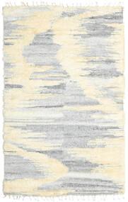 Barchi/Moroccan Berber - Indie Dywan 160X230 Nowoczesny Tkany Ręcznie Biały/Creme/Jasnoszary/Beżowy (Wełna, Indie)