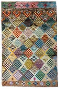 Moroccan Berber - Afghanistan Dywan 118X179 Nowoczesny Tkany Ręcznie Jasnoszary/Ciemnoszary (Wełna, Afganistan)