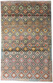 Moroccan Berber - Afghanistan Dywan 117X187 Nowoczesny Tkany Ręcznie Jasnoszary/Jasnobrązowy (Wełna, Afganistan)