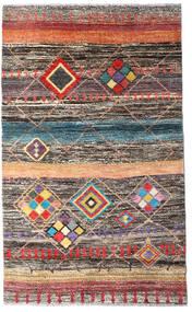 Moroccan Berber - Afghanistan Dywan 112X184 Nowoczesny Tkany Ręcznie Ciemnoszary/Jasnoszary (Wełna, Afganistan)