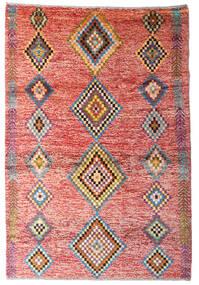 Moroccan Berber - Afghanistan Dywan 122X179 Nowoczesny Tkany Ręcznie Jasnoróżowy/Rdzawy/Czerwony (Wełna, Afganistan)