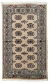Pakistański Bucharski 2Ply Dywan 96X161 Orientalny Tkany Ręcznie Jasnoszary/Ciemnoszary (Wełna, Pakistan)