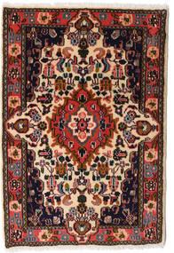 Asadabad Dywan 60X87 Orientalny Tkany Ręcznie Czarny/Ciemnobrązowy (Wełna, Persja/Iran)