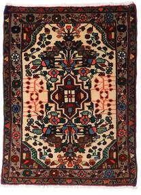 Asadabad Dywan 60X81 Orientalny Tkany Ręcznie Czarny/Ciemnobrązowy (Wełna, Persja/Iran)
