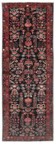 Aramnibaf Dywan 175X473 Orientalny Tkany Ręcznie Chodnik Czarny/Ciemnoczerwony (Wełna, Persja/Iran)